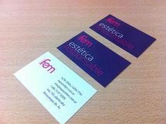 Diseño e impresión de tarjetas institucionales para Espacio Fem