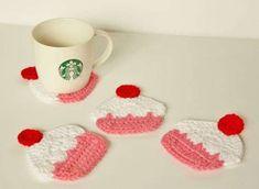 Posavasos tejidos a crochet: fotos ideas | Ellahoy