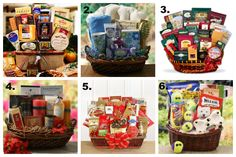 Gift Baskets are a great gift idea for #Christmas #Gifts