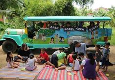 From a bike bookmobile to a floating library to books on a camel, these mobile libraries think outside the box to bring more books to the masses.