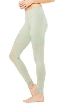e5852e5d6e37a Lean Legging | Women's Bottoms | ALO Yoga Women's Leggings, Pure Barre,  White Jeans