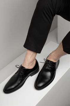 KACHOROVSKA / black leather wedding shoes Men Dress, Dress Shoes, Wedding Shoes, Oxford Shoes, Black Leather, Fashion, Bhs Wedding Shoes, Moda, Fashion Styles