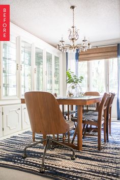Before & After: An Affordable Dining Room Upgrade from Just Pretty to Totally Perfect