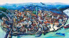 Carlos Farinha - Pintura - Artodyssey  Licenciado em Artes Plásticas vertente escultura  pela Faculdade de Belas Artes da Universidade Clássica de Lisboa. Curso de Introdução ao Teatro, Escola António Arroio, 1988 Curso de Introdução as Artes Plásticas pela ARTEVER, 1991