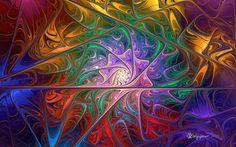 A JW fractal spiral of rich, vibrant colors. Created using JWildfire v3.0beta, enlarged using BenVista PhotoZoom Classic 6, and postwork done in PhotoShop CS5. Orig params name: PW 2 Julian Spheric...