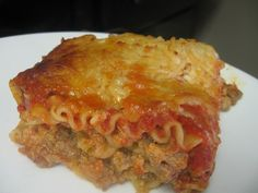 Tasty Tuesday: Lasagna Recipe - An Ordinary Housewife
