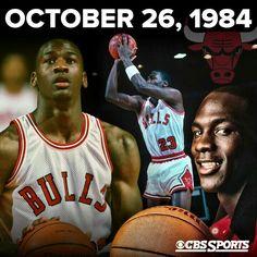 Michael Jordan made his Chicago Bulls debut 30 years ago,  Oct. 26, 1984
