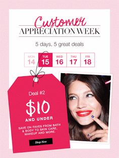 Christine's Beauty Shop - AVON: More Bang for Your Buck - $10 & Under Sale