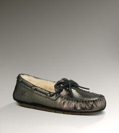 For me: Ugg Dakota Metallic Slippers - in metallic, I'll be slightly less embarrassed to wear slippers out of the house?