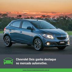O Chevrolet Onix desbancou o Fiat Palio e foi o automóvel mais vendido do Brasil no último mês.  Veja: https://www.consorciodeautomoveis.com.br/noticias/chevrolet-onix-e-destaque-no-mercado-automotivo?idcampanha=206&utm_source=Pinterest&utm_medium=Perfil&utm_campaign=redessociais