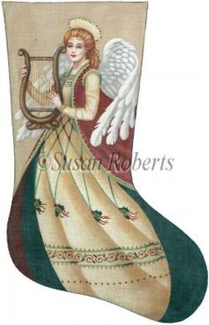 Flowing Angel distributed by Susan Roberts Designs TTAXS274
