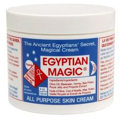 Egyptian Magic Natural All Purpose Skin Cream. Try Egyptian Magic All Purpose Skin Cream. Ancient Kamitian (Egyptian) folklore recalls the existence of a miraculous skin cream secretly used by. Egyptian Magic Skin Cream, Beauty Skin, Health And Beauty, Beauty Secrets, Beauty Hacks, Beauty Products, Beauty Tips, Beauty Buy, Skin Secrets