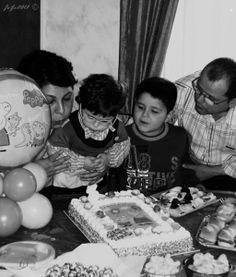Foto di gruppo...del compleanno di Benny...la piccolina 3 anni.