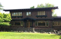The John T. Greene House - Built by Henry Greene of the Greene & Greene brothers - 1915