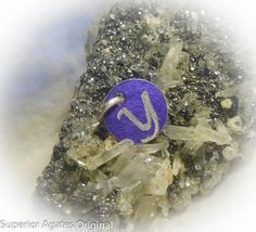 Letter Y Hand Engraved Purple Personalized Small by superioragates, $4.00
