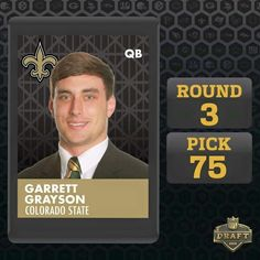 Wholesale New Orleans Saints Garrett Grayson Jerseys