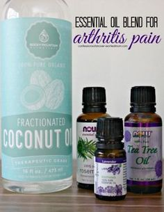 Arthritis Home Remedy | Essential Oil Rub, I added extra oils than what was in this recipe. I know it worked on growing pains!