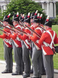 Fucilieri del 33 rgt. fanteria inglese