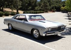 1967 Chevrolet Malibu. This is the model car I learned to drive. Standard transmission, column shift.