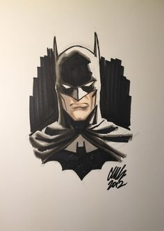 Batman by Cameron Stewart Comic Art