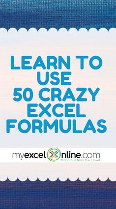 50 Crazy Excel Formulas That Do Amazing Things - Excel formulas and functions - Basic Excel Formulas Computer Basics, Computer Help, Computer Programming, Excel Cheat Sheet, Microsoft Excel Formulas, Medical Technology, Technology Careers, Medical Coding, Energy Technology