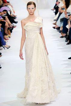 Elie Saab Fall 2009 Couture Fashion Show - Sigrid Agren (Elite)