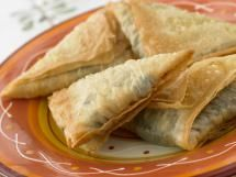 25 Must-Try Greek Recipes: Cheese Pie Triangles (Tyropitakia)