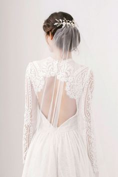 Veil by Britton Bridal Accesories