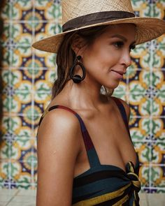 "JULIE SARIÑANA on Instagram: ""Hi, i like pretty @baublebar earrings and pretty tiles. #baublebar"""