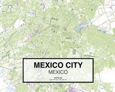 Ciudad de Mexico - Mexico. Download CAD Map city in dwg ready to use in Autocad. www.mapacad.com Autocad, City Maps, Mexico City, South America, Movie Posters, Design, Maps, Buildings, Cities