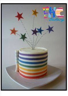 tutorial on using a pasta maker to create perfect horizontal stripes on fondant or modeling chocolate.