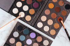ZOEVA Spectrum Collection Swatches – Nude, Warm und Cool Eyeshadow Palette