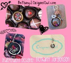 Valentine's Day Origami Owl