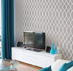 grey and teal: really want my living room to have these colors