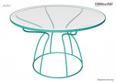 "Tisch ""Bella"" 2014/15 Design: SVEN DOGS 2014, www.svendogs.com Manufacturer: www.formvorrat.net Outdoor Furniture, Outdoor Decor, Stool, Table, Design, Dogs, Home Decor, Decoration Home, Room Decor"