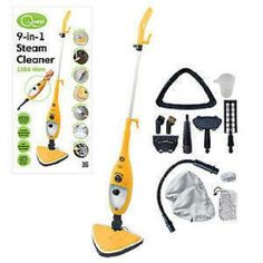 New Electric Floor Steam MOP Cleaners Carpet Cleaner Steamer Disinfecting h2o