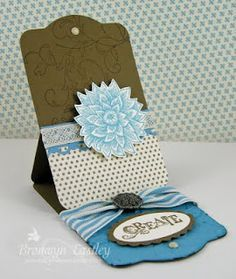 Stampin Up Card Folding Ideas | 3d Decoupage cards