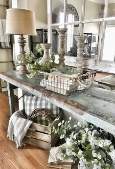 33 Wonderful Elegant Modern Farmhouse Living Room Decor Ideas And Makeover. If you are looking for Elegant Modern Farmhouse Living Room Decor Ideas And Makeover, You come to the right place. Modern Farmhouse Living Room Decor, Country Farmhouse Decor, French Country Decorating, Home Living Room, Farmhouse Style, Farmhouse Ideas, Vintage Farmhouse, Farmhouse Design, Modern Living