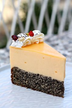 Kremasta mak limun torta – Sweetlifebykarla Torte Recepti, Kolaci I Torte, Sweet Recipes, Cake Recipes, Dessert Recipes, Orange Cookies, Girl Cakes, Cake Cookies, Mousse