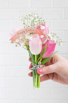 Mini Easter Bouquet / Mini bouquet pour Pâques