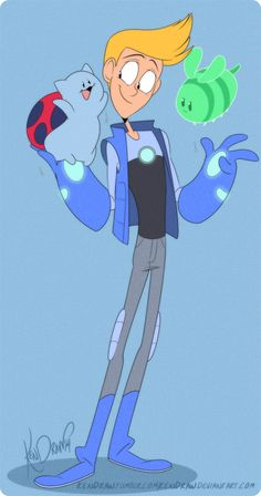 Chris is my favorite Bravest Warriors character