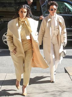 Kim's face says it all: Kardashian had a look of, 'Really, Mother?' about her as she went for lunch with Kris