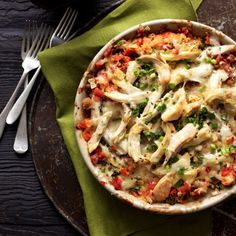 "You've heard of Engagement Chicken but our King Ranch Chicken is the ""Stay Married"" Chicken :)"