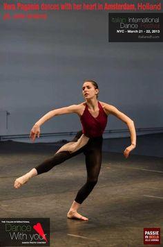 Vera Paganin dances with her heart in Amsterdam, Holland   Ph. Jelle lJntema
