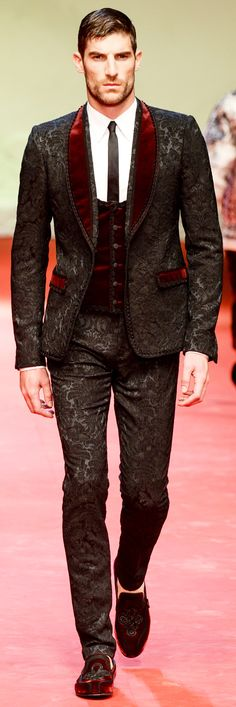 Dolce & Gabbana Spring-Summer 2015 Men's Collection