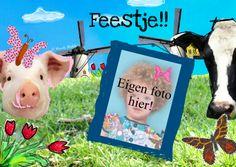 Boerderij dieren - Uitnodigingen - Kaartje2go