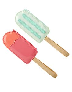 Patent Popsicle Coin Purses Two-Pack at Gymboree (3 sets @ $7.98)