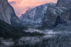 November Magic in Yosemite - Michael Frye