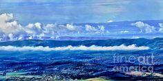 Title  Shenandoah Valley Panoramic   Artist  Dawn Gari   Medium  Photograph - Photography