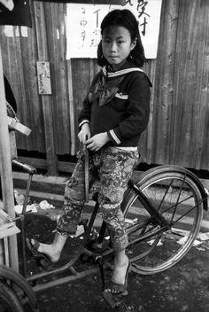 Little girl in Kyoto, 1951 by Werner Bischof